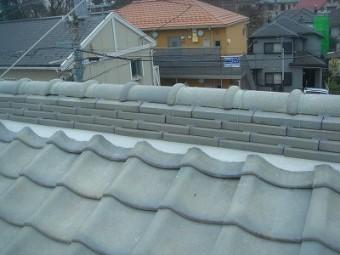 蓮田市 漆喰劣化 屋根漆喰補修