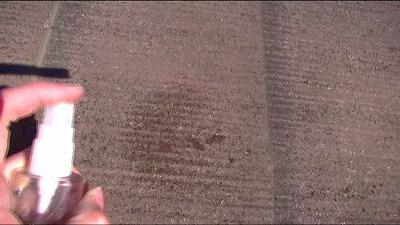 上尾市 屋根 吸水テスト
