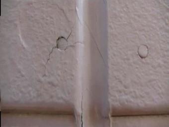 川越市 塗膜剥離 無料診断 ボードのヒビ