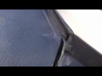 屋根棟板金 隙間 コーキング剥離