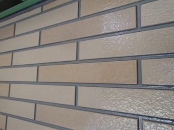 外壁の塗装完了