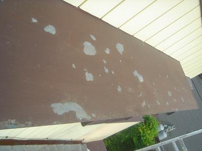 白岡市で軒天塗装と雨樋塗装