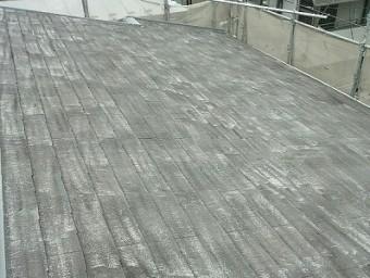 一回も塗りなおしてない家の屋根