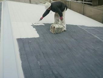 蕨市で屋根塗装と外壁塗装と附帯塗装